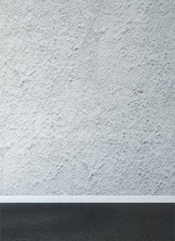 Mock up e decoração e sala de estar vazia e fundo de parede de textura