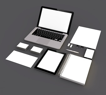 Mock up template