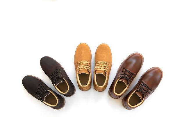 Moda homem botas de tornozelo