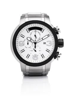 Moda masculina elegante relógio de pulso