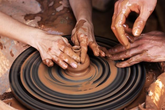 Modelagem de argila