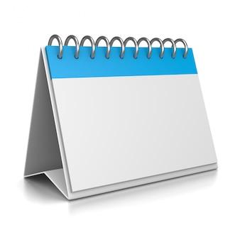 Modelo 3d do calendário de mesa