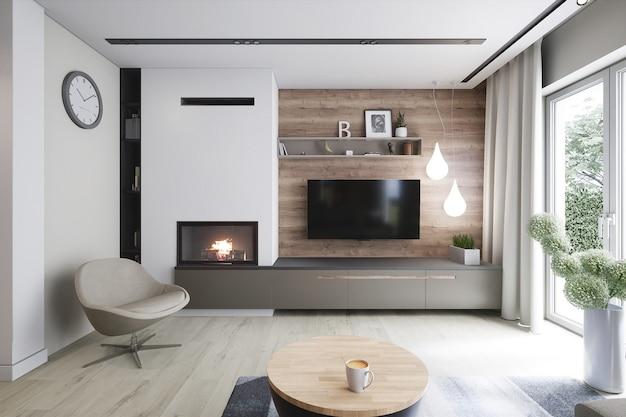 Modelo de arquitetura 3d