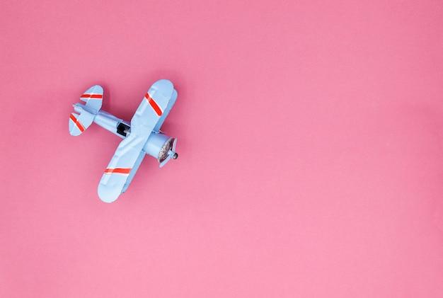 Modelo de avião, avião na cor pastel