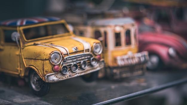 Modelo de carro clássico