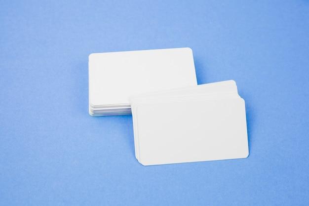 Modelo de cartão de visita em branco