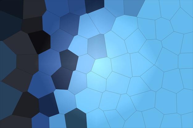Modelo de fundo abstrato de célula azul profundo nas cores da moda 2020 com espaço de cópia.
