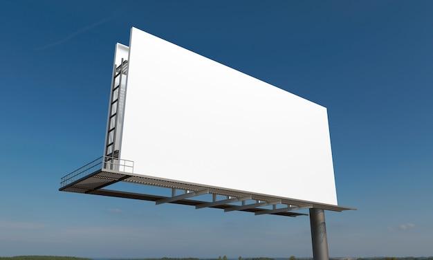Modelo de maquete de sinal de outdoor Foto Premium