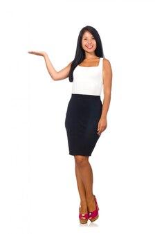 Modelo de mulher legal isolado