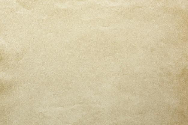 Modelo de papel artesanal amassado em branco
