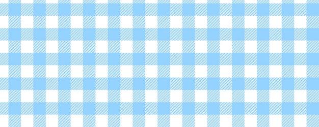 Modelo de xadrez azul brilhante sem costura para plano de fundo
