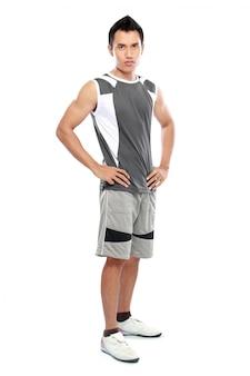 Modelo masculino de fitness