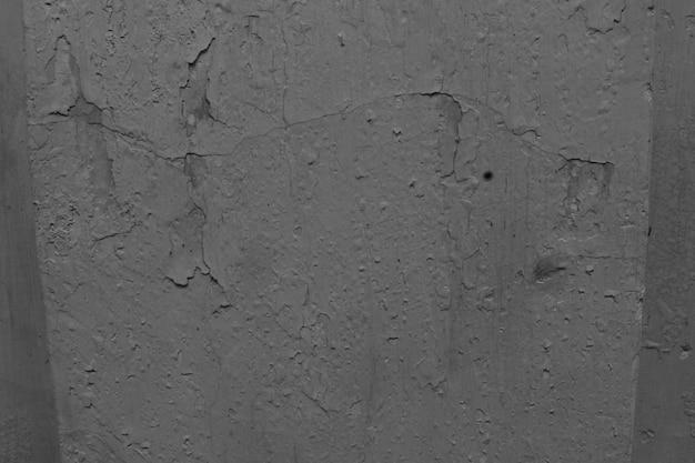 Modelo premium de design de parede de concreto antigo e piso de madeira