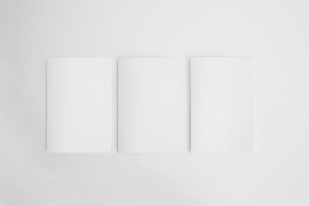 Modelos de folhetos em branco