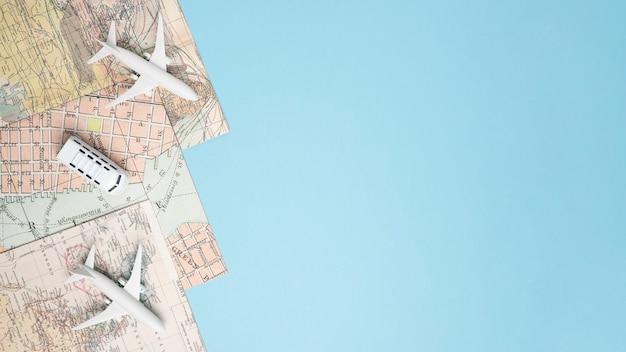 Modelos de veículos em mapas