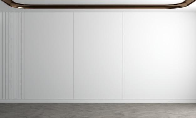 Moderna luxuosa sala de estar vazia e design de interiores de fundo de textura de parede azul