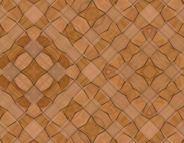 Moderna tecelagem quadrada de madeira telhas de parede de fundo