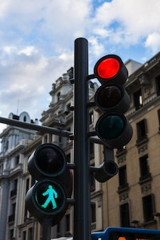 Modernos semáforos
