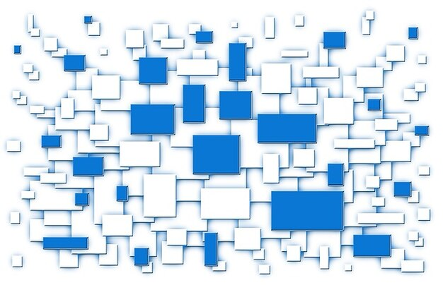 Módulo gráfico organização partes itens