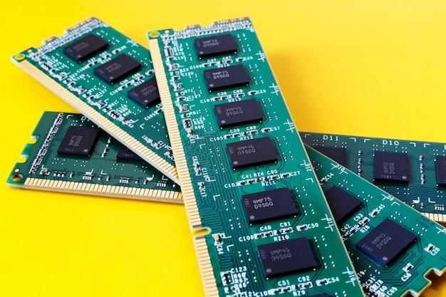 Módulos de ram, peças de computador
