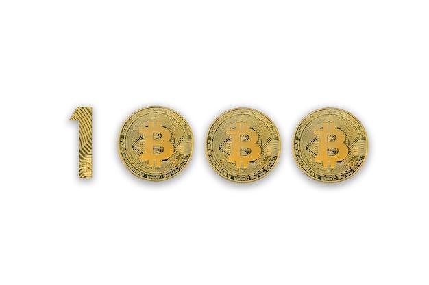 Moeda criptográfica em bitcoins