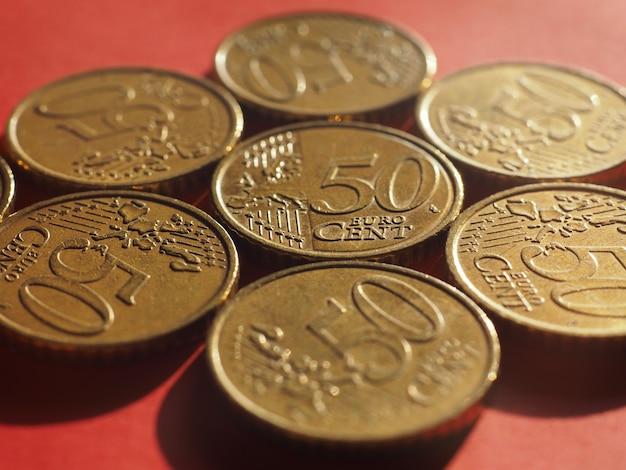 Moeda de 50 centavos, união europeia