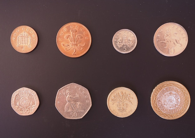 Moeda de libra britânica