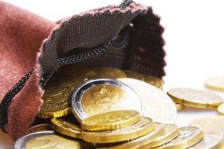 Moedas de euro financeira