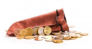 Moedas riqueza dinheiro