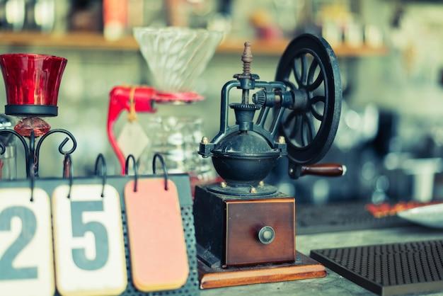 Moedor de café manual para moer grãos de café