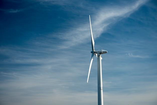 Moinho de vento para produção de energia elétrica