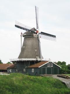 Moinho holandês, serraria