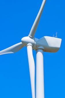 Moinhos de vento no céu