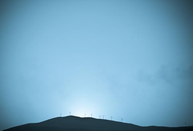 Moinhos de vento turbinas hélices energia