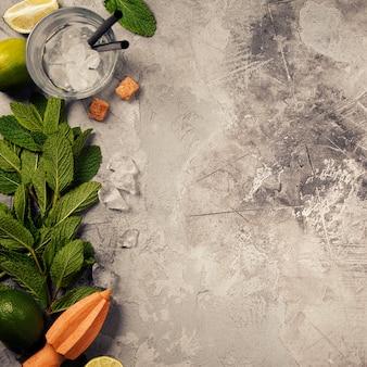 Mojito cocktail ingredientes