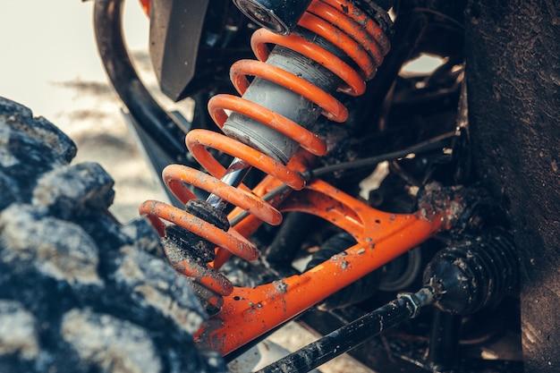 Mola da bicicleta do quadrilátero de atv