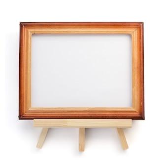 Moldura de foto isolada em fundo branco