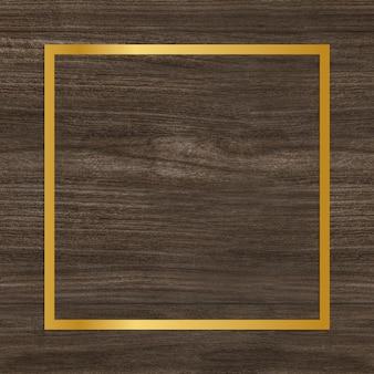 Moldura de madeira texturizada