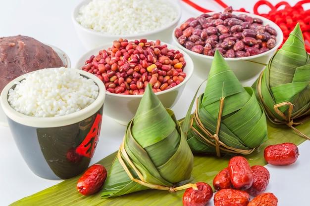 Moldura de porco de arroz arroz oriental snacks