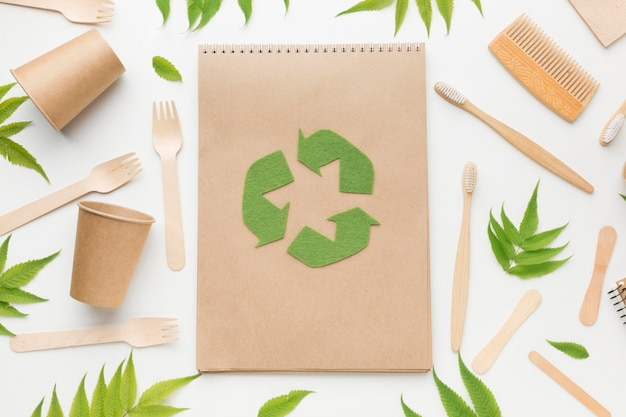 Moldura ecológica para notebook