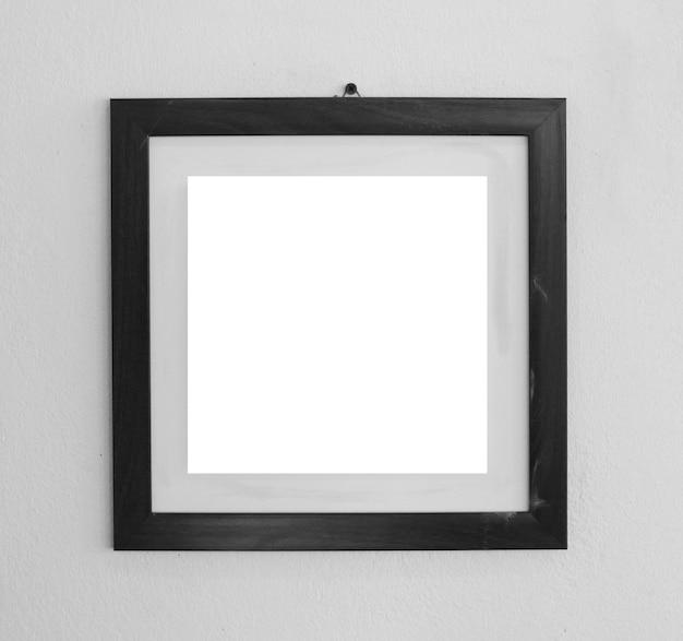 Moldura elegante com espaço em branco para fotos ou obras de arte