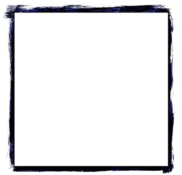 Moldura grunge azul escuro e branco ideal para fotos