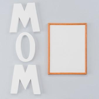 Moldura personalizada para o dia das mães