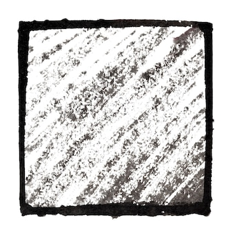 Moldura preta com traços inclinados - plano de fundo para seu próprio texto - ilustração raster