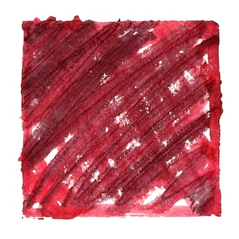 Moldura vermelha suja com sombreamento. espaço para seu próprio texto. fundo abstrato. ilustração raster