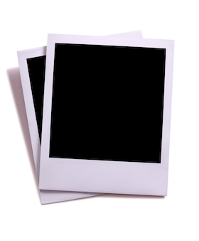 Molduras de estilo polaroid
