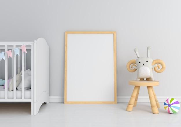 Molduras para fotos em branco para maquete