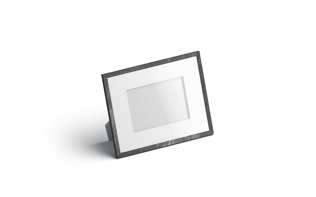 Molduras para fotos em branco tabela horizontal branca, isolada Foto Premium