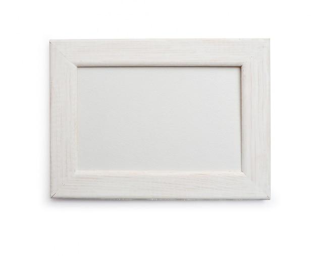 Molduras para fotos na máscara de recorte isolada no branco