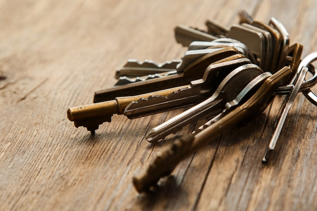 Molho de chaves diferentes